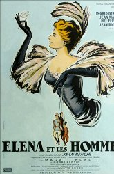 Постер Елена и мужчины