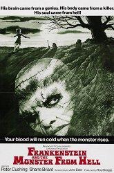 Постер Франкенштейн и монстр из ада