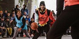 ВМоскве 700 человек приняли участие вбаскетбольном марафоне. Фоторепортаж