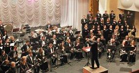 Концертный оркестр духовых инструментов им. Еждика. Дирижер Артур Богдасаров