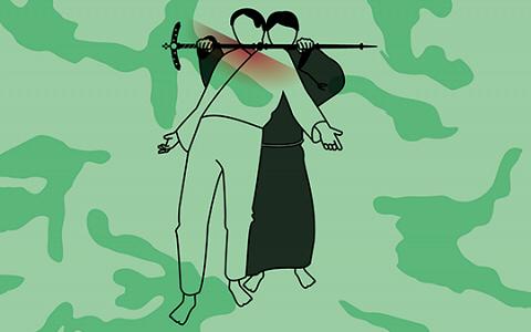 Праведный бой: как драться посохом, крестом и поясом