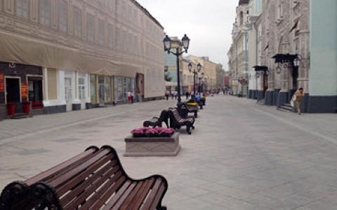 На Никольской улице закончились работы по благоустройству, она стала пешеходной