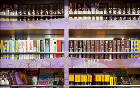 «Книжный бар» в экспрессе Москва–Калуга