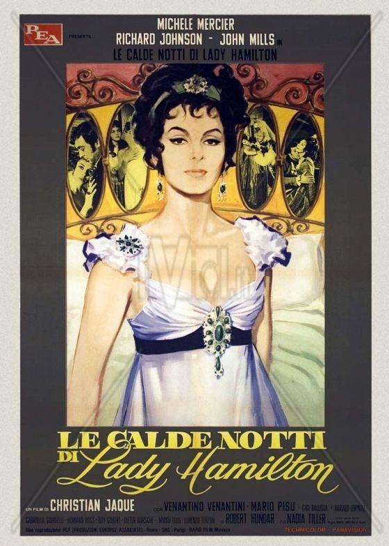 Леди Гамильтон: Между бесчестьем и любовью (Le Calde notti di Lady Hamilton)