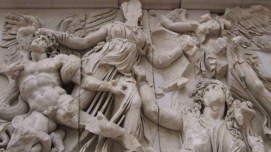 Большой фриз Пергамского алтаря