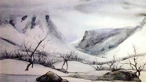 ГеоГрафика — саамские мотивы