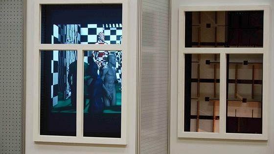 Интерьер в чужом окне