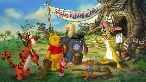 Весенние денечки с малышом Ру (Winnie the Pooh: Springtime with Roo)