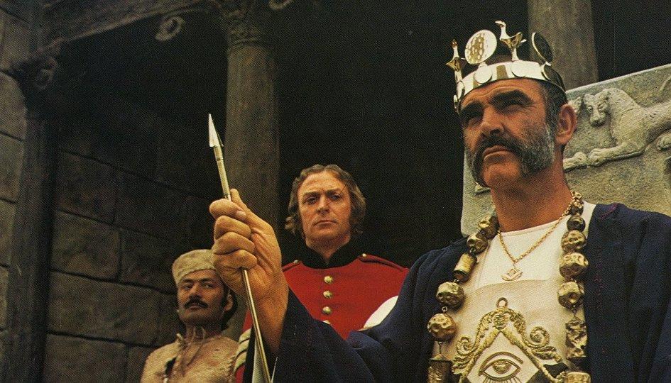 Кино: «Человек, который хотел стать королем»