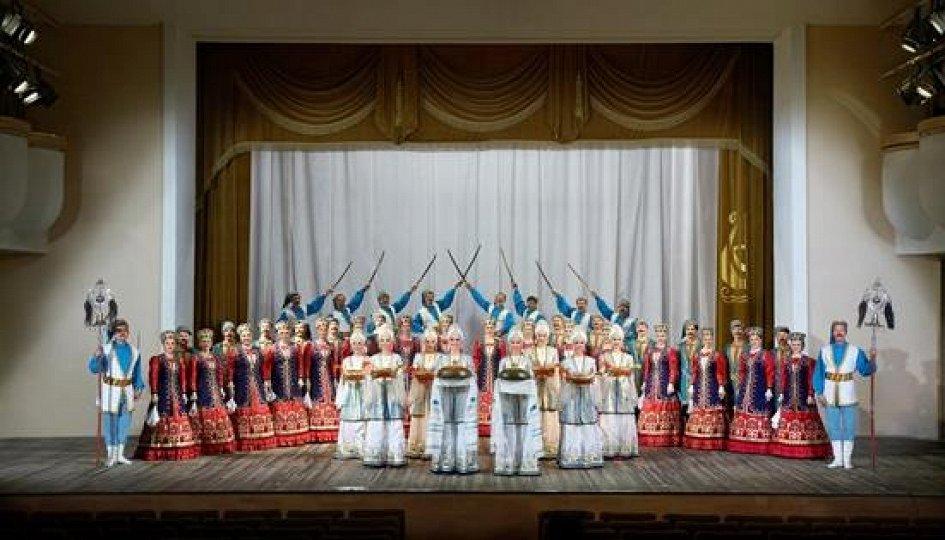 Театр: Концерт Ансамбля песни и пляски донских казаков им. Квасова
