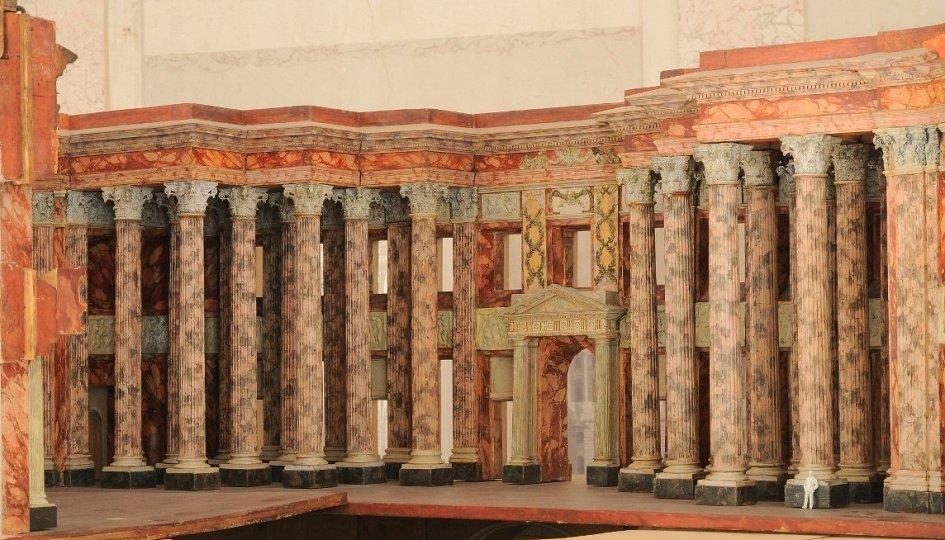 Выставки: Модель Большого Кремлевского дворца архитектора Василия Баженова