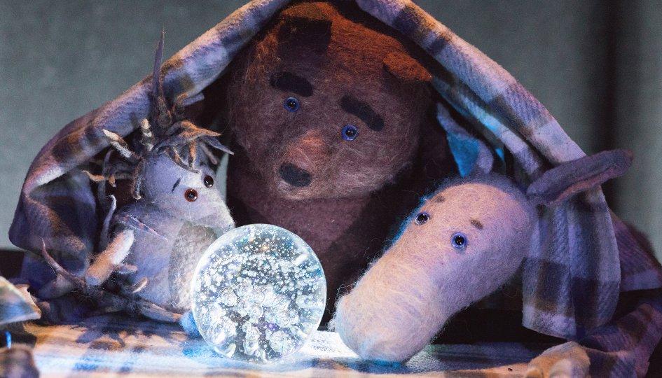 Вот я. История ежика, ослика и медвежонка