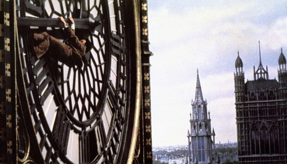 Кино: «Тридцать девять ступеней»