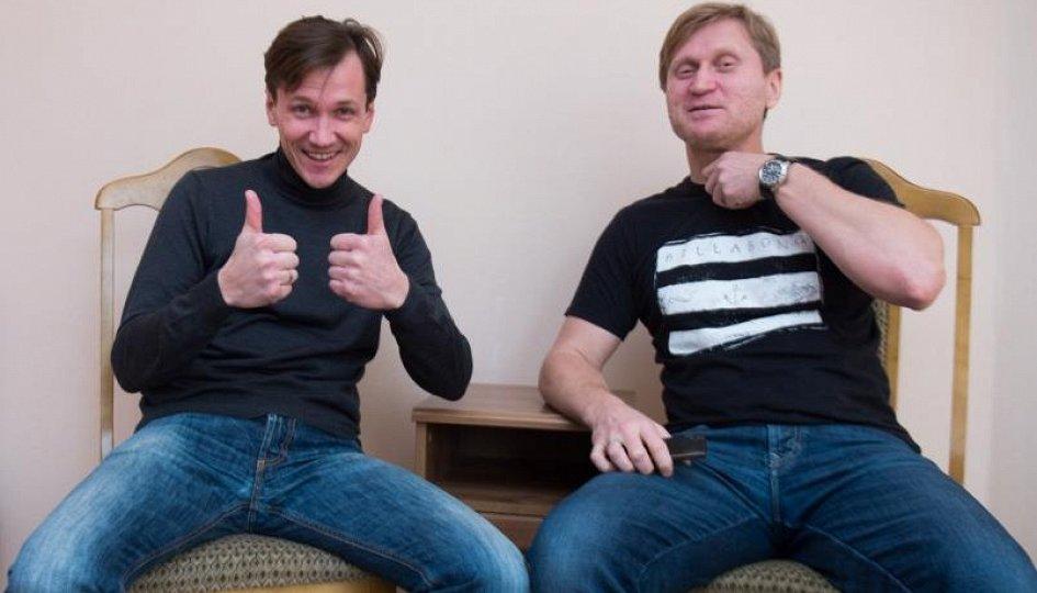 Концерты: «Ваши пельмени. Лучшее»: Вячеслав Мясников, Андрей Рожков