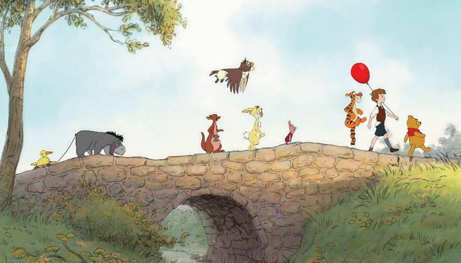 Кино: «Незабываемое приключение медвежонка Винни»