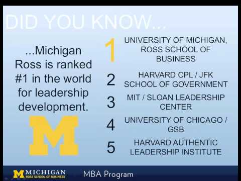 Michigan mba essay