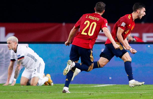 Испания— Германия— 6:0, обзор матча, 17ноября 2020 года, Лига наций