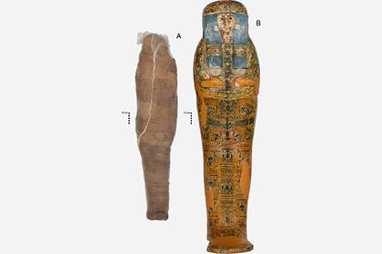 Раскрыта неожиданная тайна древнеегипетской мумии