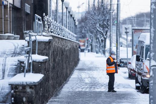 Вмэрии напомнили, ктовКалининграде отвечает зауборку снега сдорог