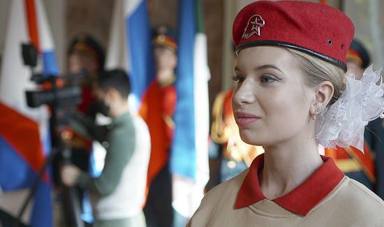 Торжественная церемония приема школьников вряды юнармейцев состоялась вХабаровске