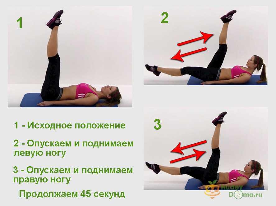 Упражнения с гантелями в домашних условиях для
