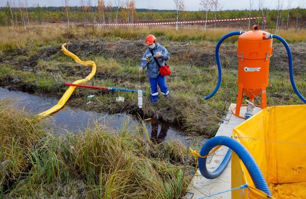 «Транснефть— Сибирь» провела учения поликвидации условного разлива нефти