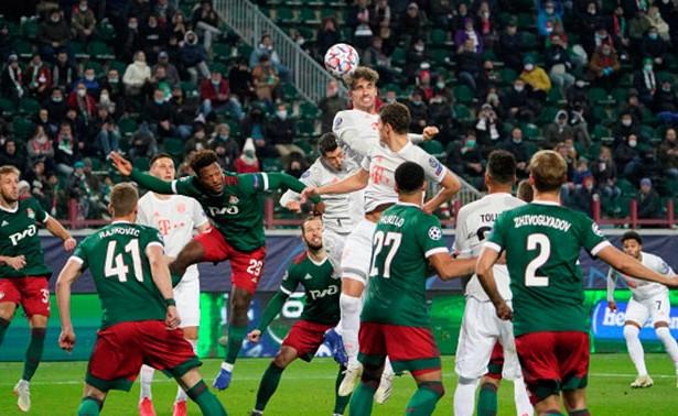 «Локомотив» минимально уступил «Баварии» вматче Лиги чемпионов