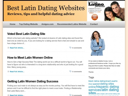 Latin dating service