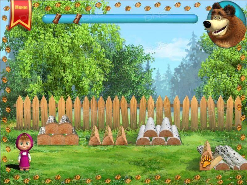 Игры Маша и Медведь – играть онлайн бесплатно!