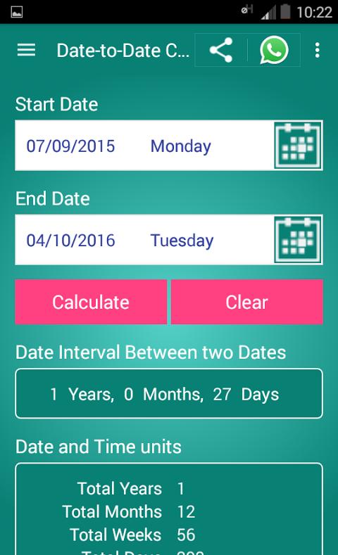 Dating age calculator