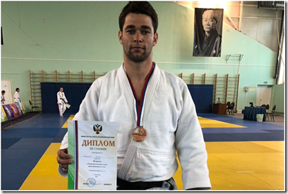 Дзюдоист изКалининграда выиграл двемедали чемпионата России