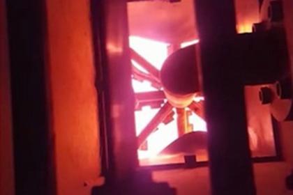 На«Кучино» запущен высокотемпературный факел
