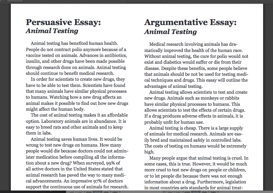 Argumentative Essay Help for College Students - Write My
