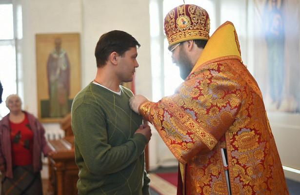 Медалью Преподобного Димитрия Прилуцкого наградили Мэра Вологды