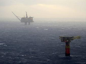 ВСеверном море произошла утечка нефти