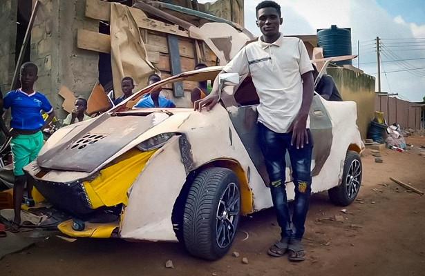 Подросток построил машину изметаллолома за200долларов