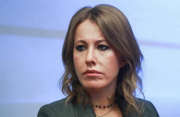 Собчак вэфире Первого канала сделала признание