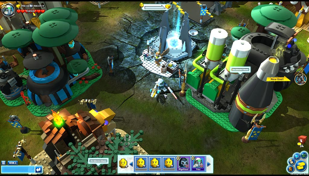 LEGO legends Of CHIMA: Speedorz - A free Buzz Game