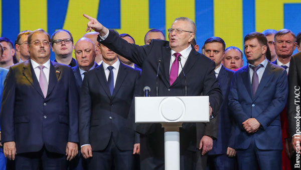 ЛДПР теряет оппозиционный электорат