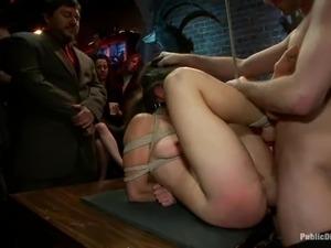 Big blonde mature tit woman