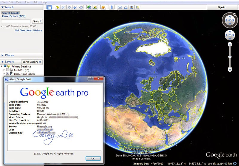 Google earth pro user manual