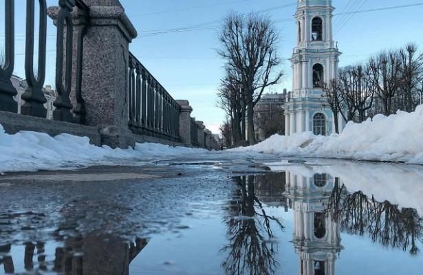 ВПетербурге ввоскресенье ожидается гололедица