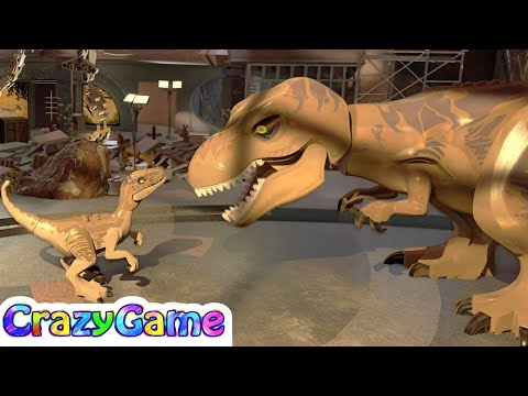 Level 01: Raptor Transfer (Walkthrough: Movie 1) - LEGO