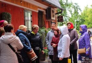 Участники клуба «Московские окрестности» прошлись поГрузинской слободе