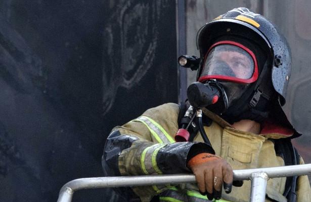 Пожар вколлекторе оставил москвичей безсвета