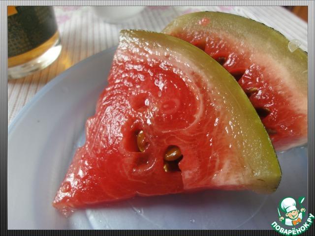 Рецепт быстро посолить арбузы