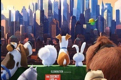The Secret Life of Pets cast tries to get into the holiday