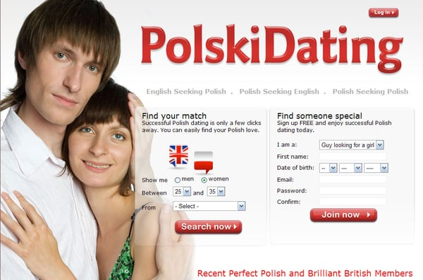 Dating site england