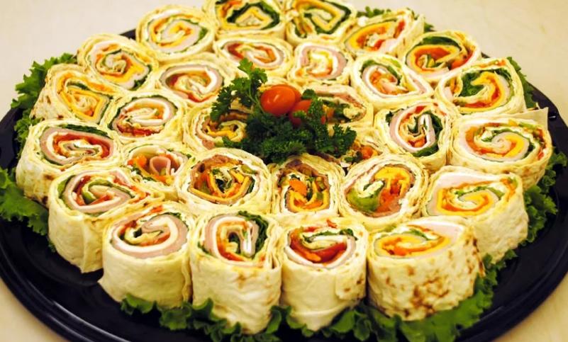 Блюда из лаваша быстрые рецепты