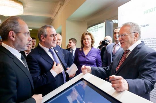 ВГосдуме открыли посвящённую защите дольщиков выставку